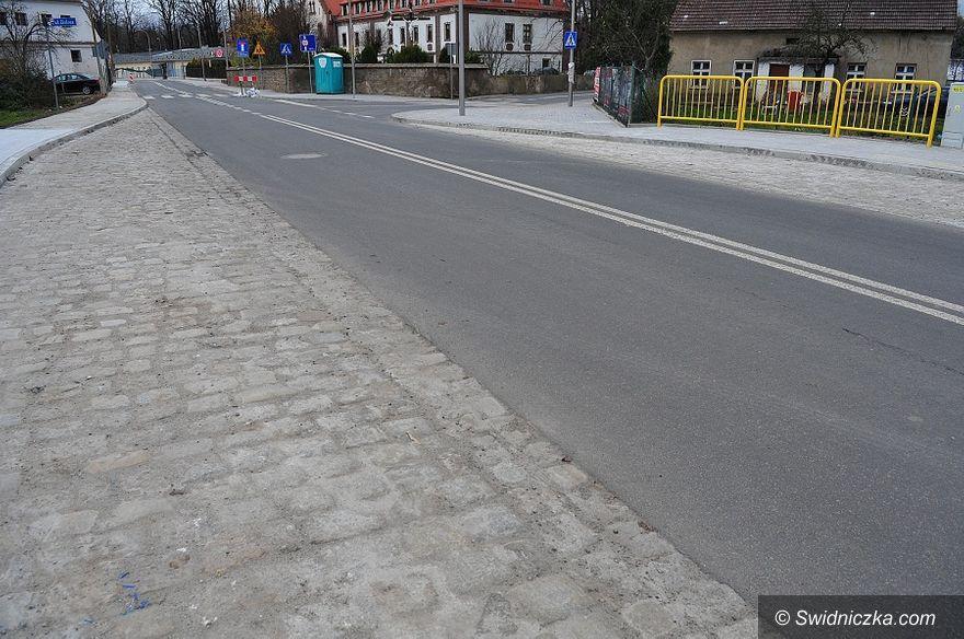 Świdnica: Wraca ruch na ulicy Przyjaźni w Świdnicy