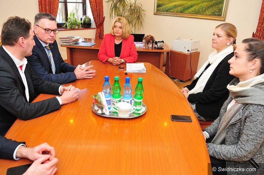 Świdnica: Niemieccy partnerzy z wizytą w Świdnicy