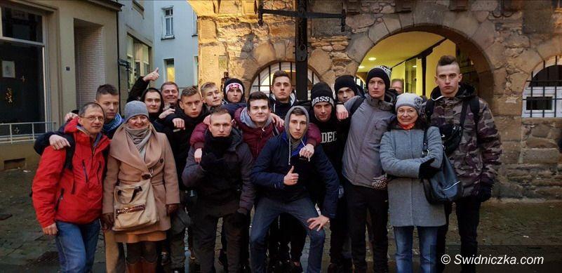 Świdnica: Międzynarodowa wymiana uczniów z Zespołu Szkół Mechanicznych w Świdnicy