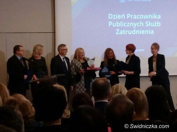 Świdnica: Ministerialne wyróżnienie dla Powiatowego Urzędu Pracy w Świdnicy