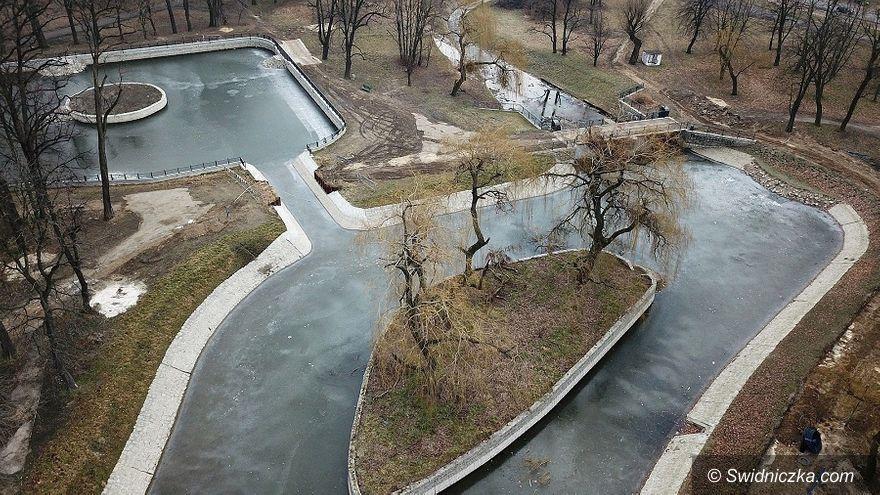 Świdnica: Trwa rewitalizacja Parku Centralnego