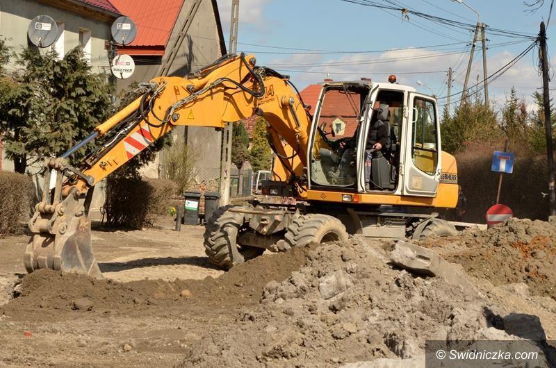 Mrowiny: I etap budowy kanalizacji w Mrowinach na finiszu
