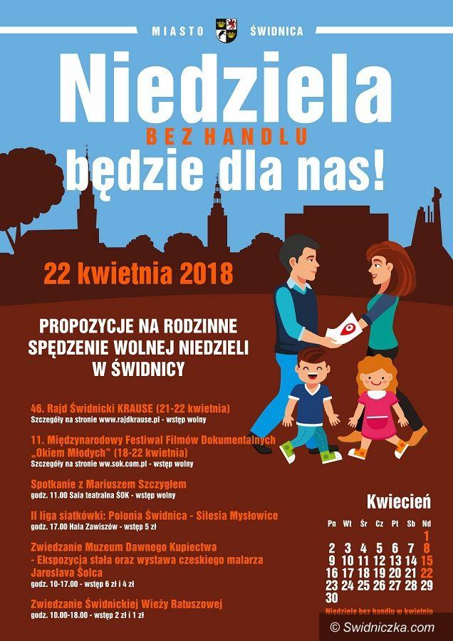 Świdnica: Niedziela (bez handlu) będzie dla nas!