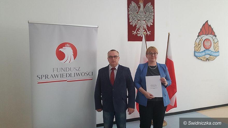 Gmina Świdnica: Kolejny sprzęt strażacki dla gminnych jednostek OSP