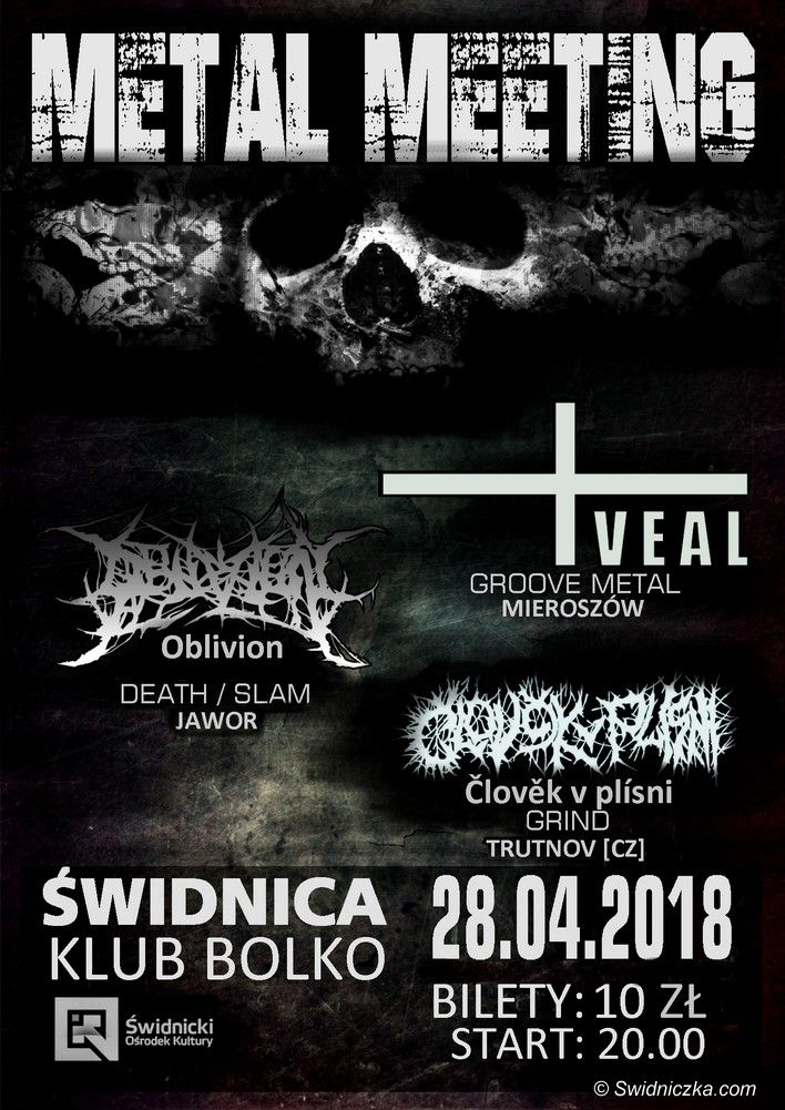 Świdnica: Sobotni Metal Meeting w Świdnicy już od 100 groszy