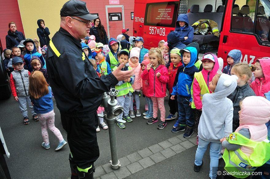 Świdnica: Dzieci poznały strażacki fach