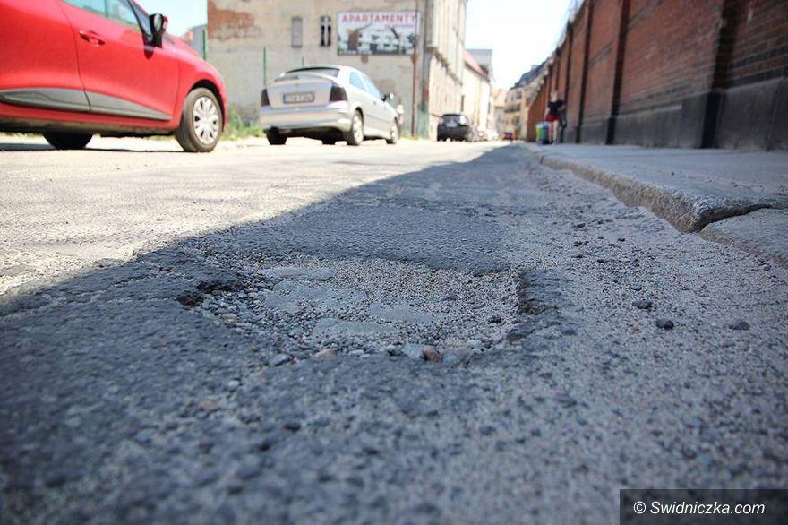 Świdnica: Ulica Różana do remontu