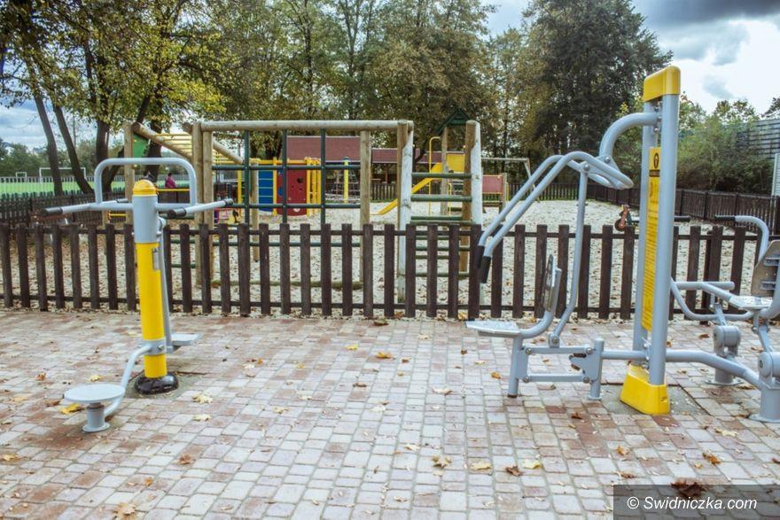 Gmina Marcinowice: Dofinansowanie na siłownie zewnętrzne