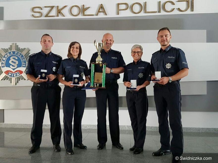 Świdnica: Świdniccy kryminalni na drugim miejscu