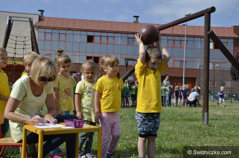 Żarów: Tęczowa Olimpiada Przedszkolaków