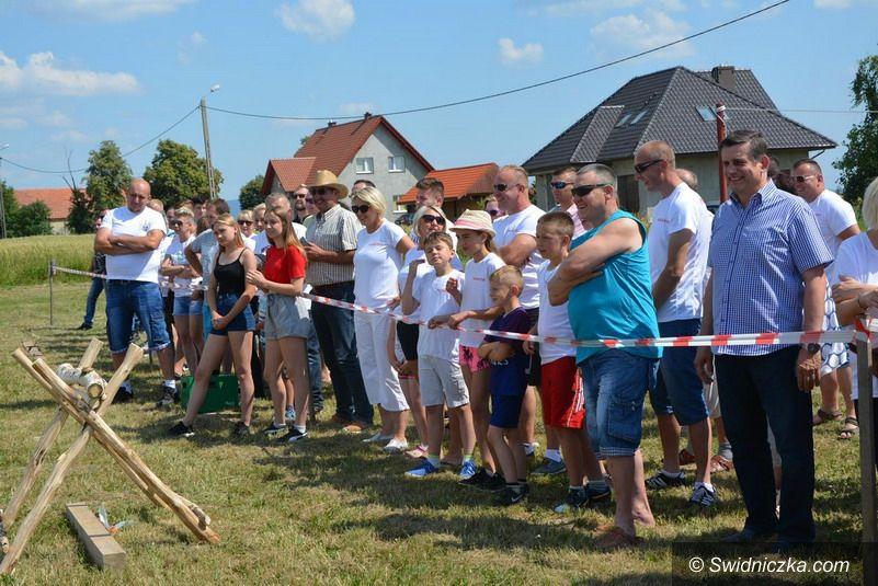 Gmina Żarów: Puchar dla mieszkańców Pożarzyska