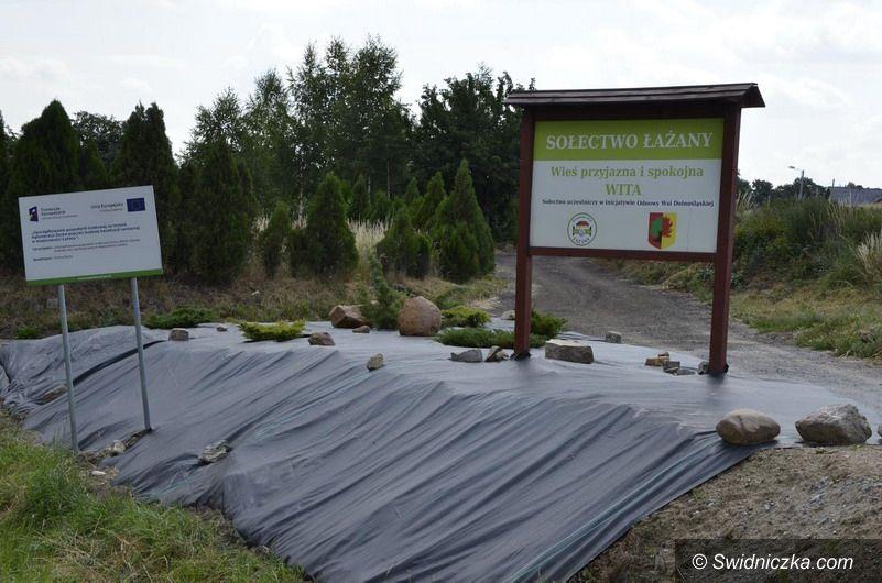 Łażany: Mieszkańcy Łażan dbają o swoją wieś