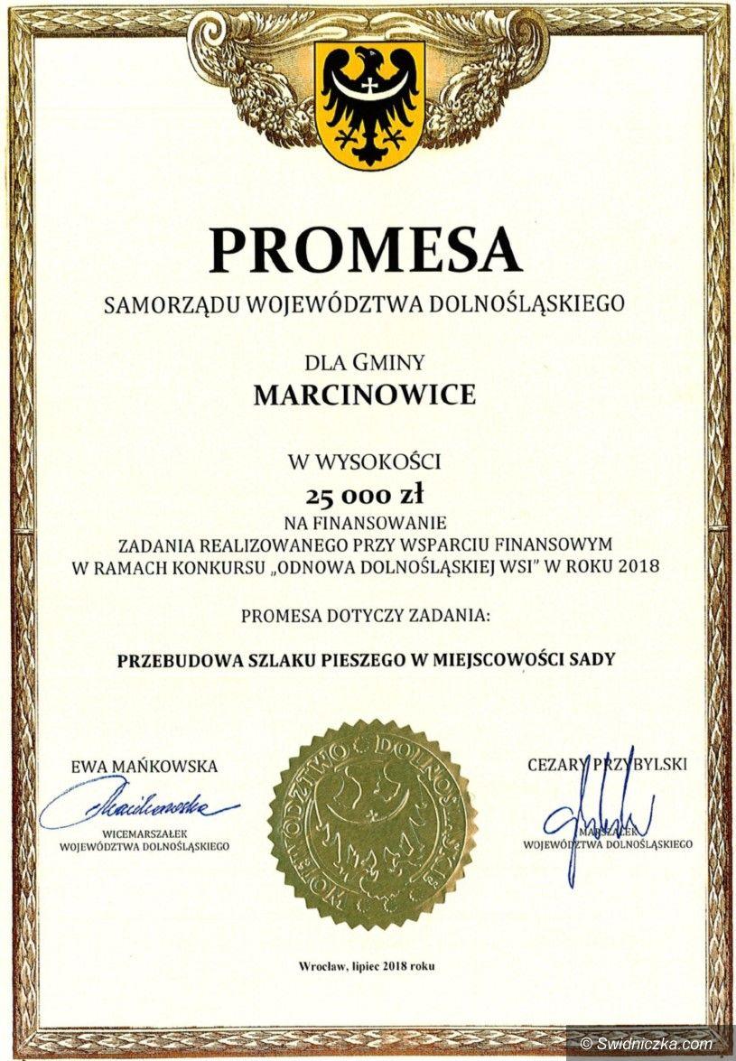 Sady: Promesa z Odnowy Dolnośląskiej Wsi