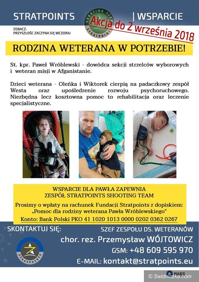 Świdnica: Strzelnica Świdnica i Stratpoints Shooting Team organizują zawody strzeleckie o białe kepi, aby pomóc rodzinie weterana