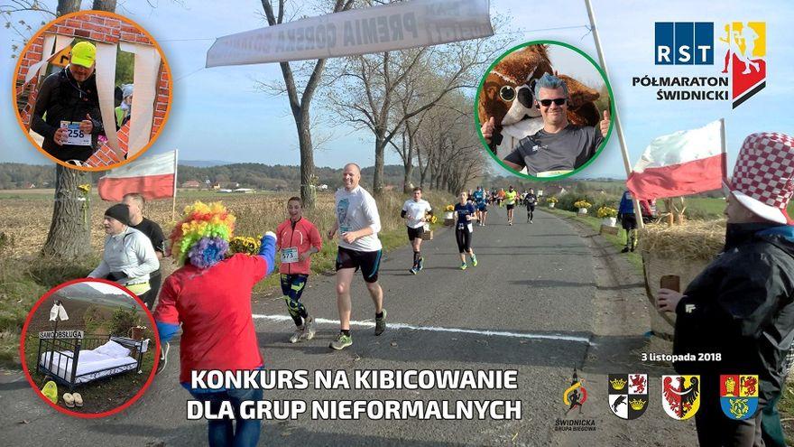 Świdnica: Zgarnij nagrody za kibicowanie podczas 4.RST Półmaratonu Świdnickiego