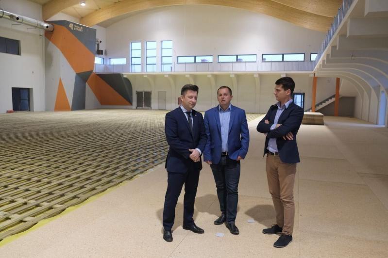 Jaworzyna Śląska: Wizyta Szefa Kancelarii Prezesa Rady Ministrów w Jaworzynie Śląskiej