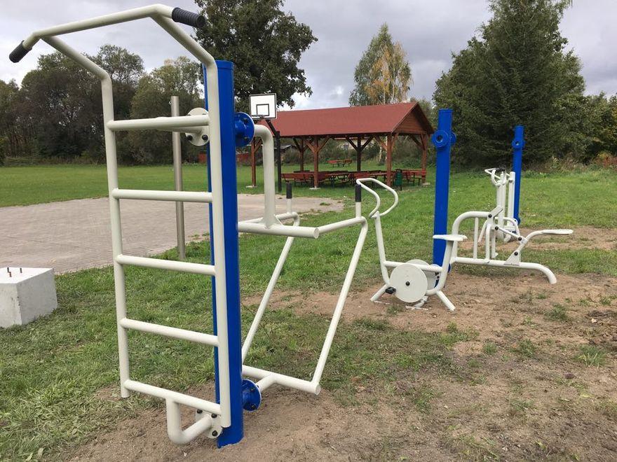 Gmina Marcinowice: Powstają siłownie zewnętrzne