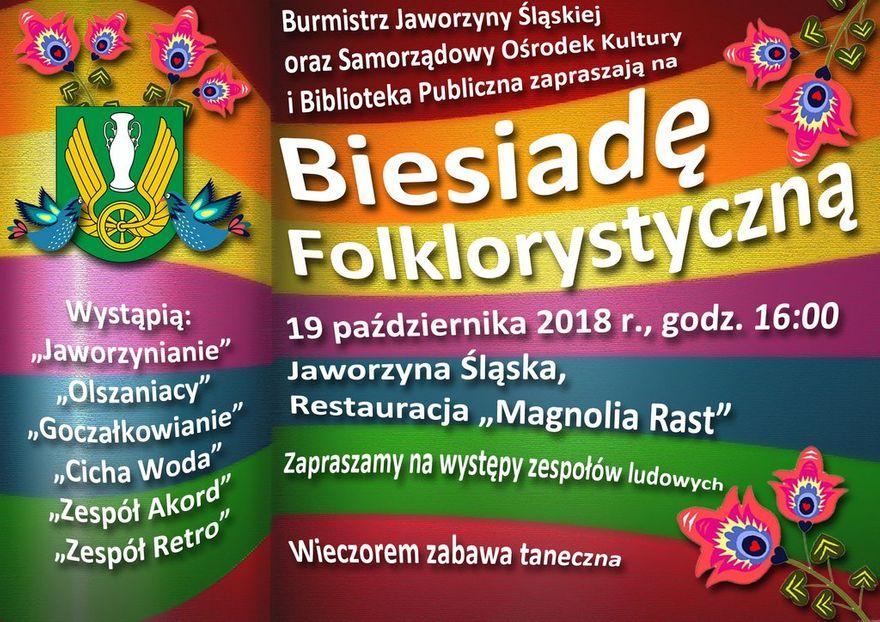 Jaworzyna Śląska: Zapraszamy na Biesiadę Folklorystyczną