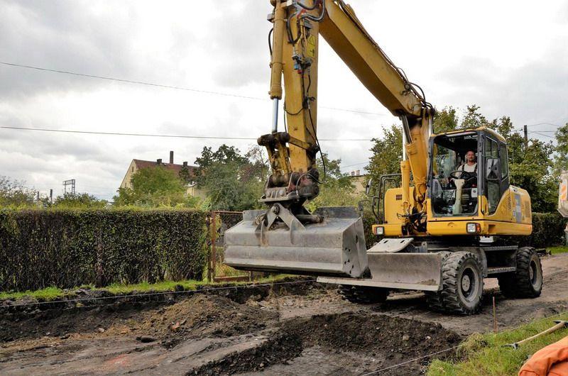 Żarów: Ruszył remont ulicy Kwiatowej w Żarowie