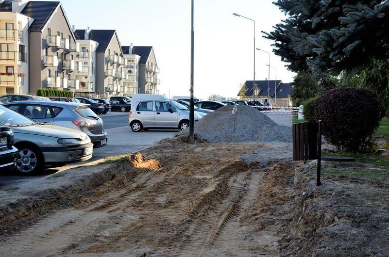 Żarów: Remont chodnika przy ul. Krzywoustego w Żarowie