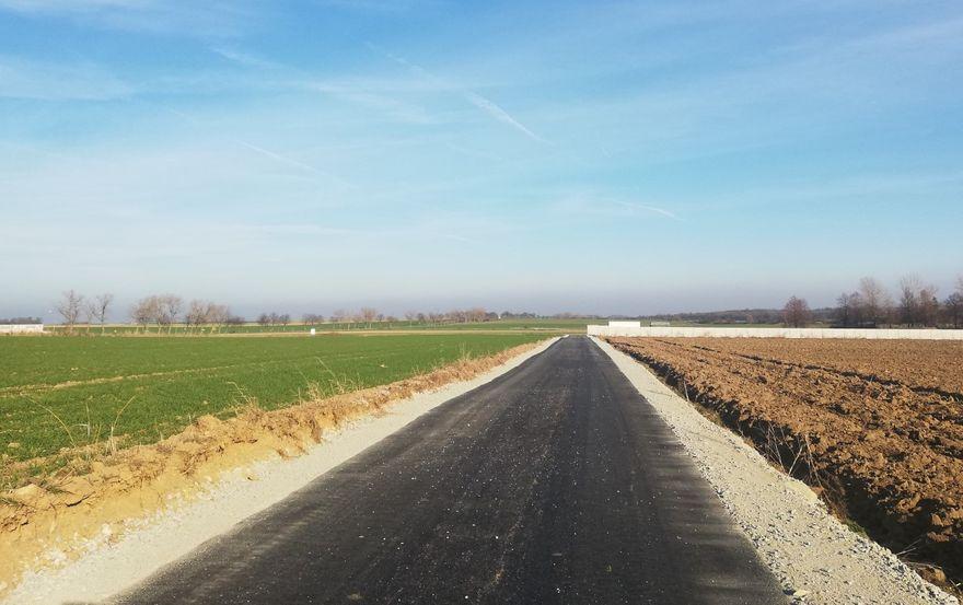 Marcinowice: Droga w Marcinowicach gotowa