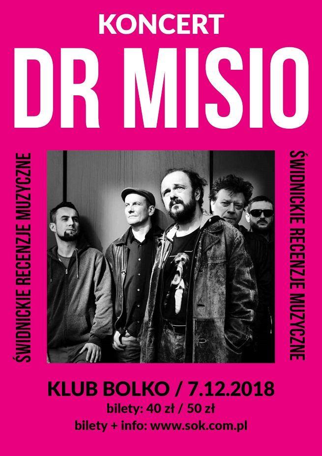 Świdnica: Dr Misio czyli Arek Jakubik z zespołem w piątek w Świdnicy