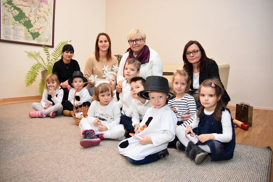 Witoszów Dolny: Świąteczna wizyta przedszkolaków