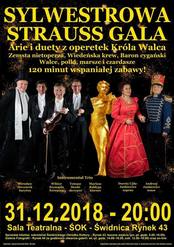 Świdnica: Sylwestowa Strauss Gala