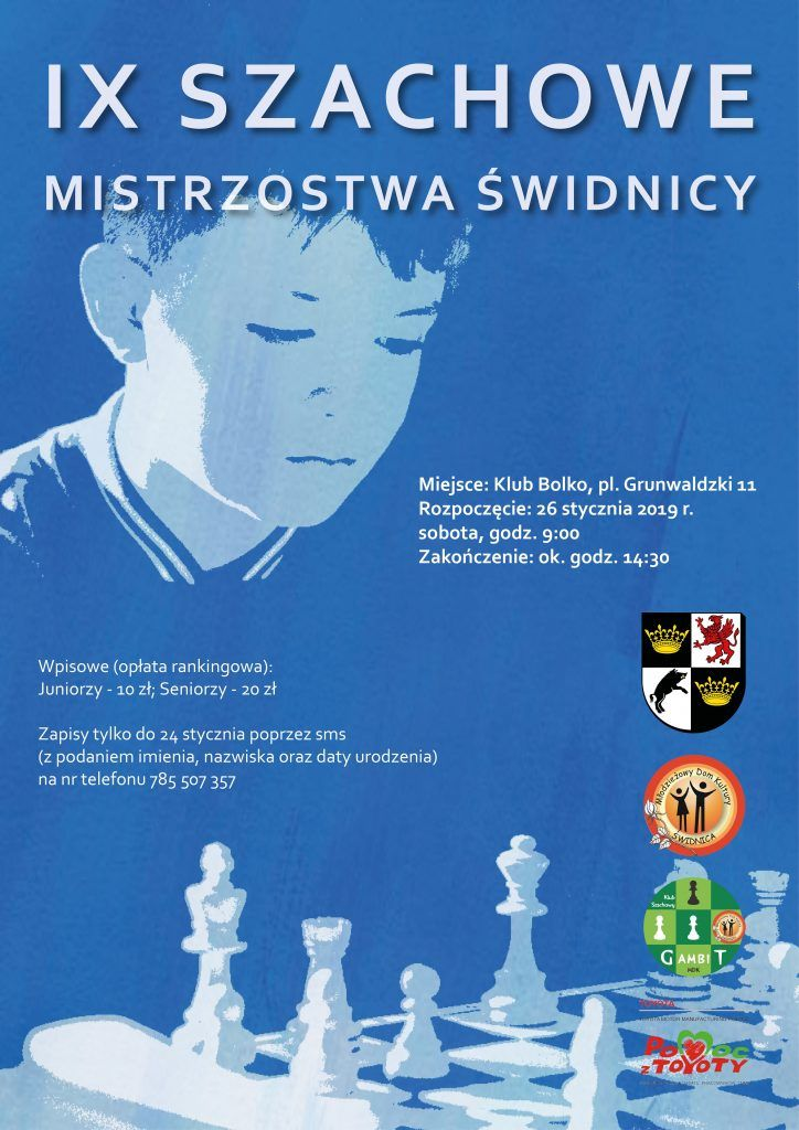 Świdnica: Będą rywalizować szachiści