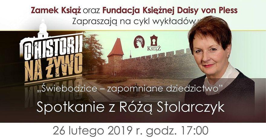 REGION: Róża Stolarczyk opowie o zapomnianym dziedzictwie ostatniego piastowskiego właściciela Książa