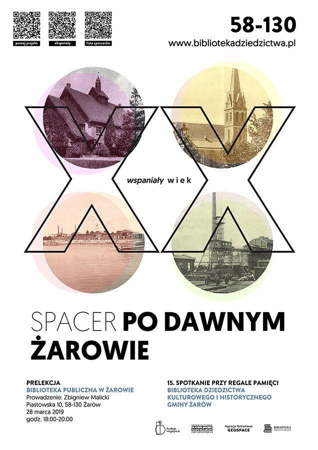 """Żarów: Prelekcja """"Spacer po dawnym Żarowie – Wspaniały XX wiek"""""""