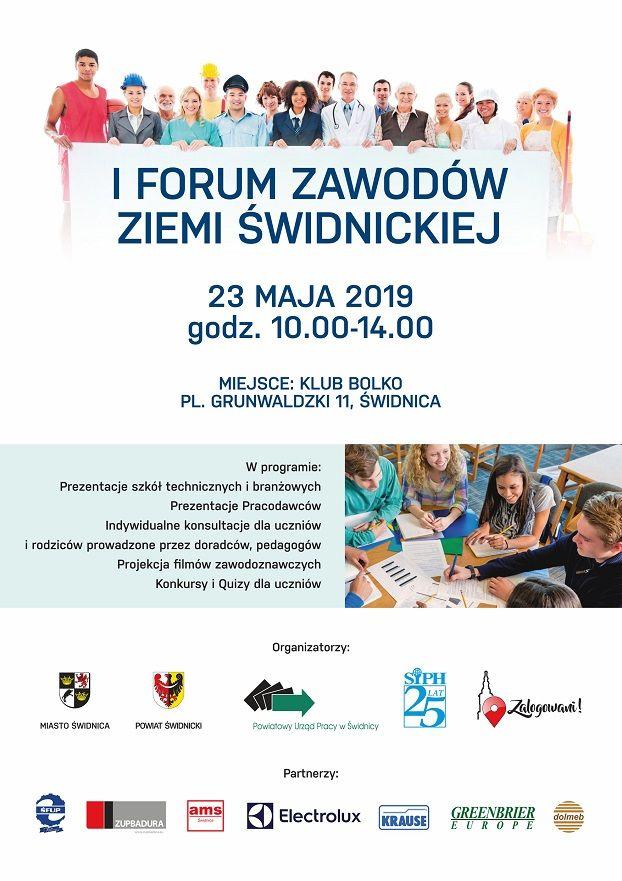 Świdnica: Zmiana terminu I Forum Zawodów Ziemi Świdnickiej
