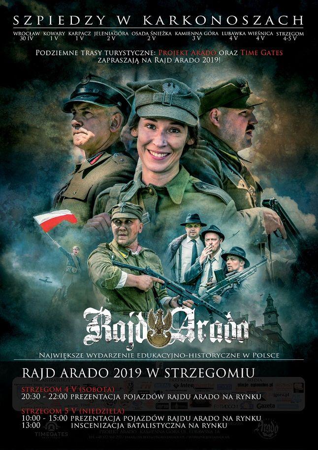 Strzegom: Rajd Arado w Strzegomiu – największa impreza militarna o charakterze historyczno–edukacyjnym