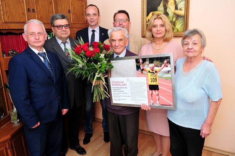 Świdnica: 109 urodziny Pana Stanisława Kowalskiego