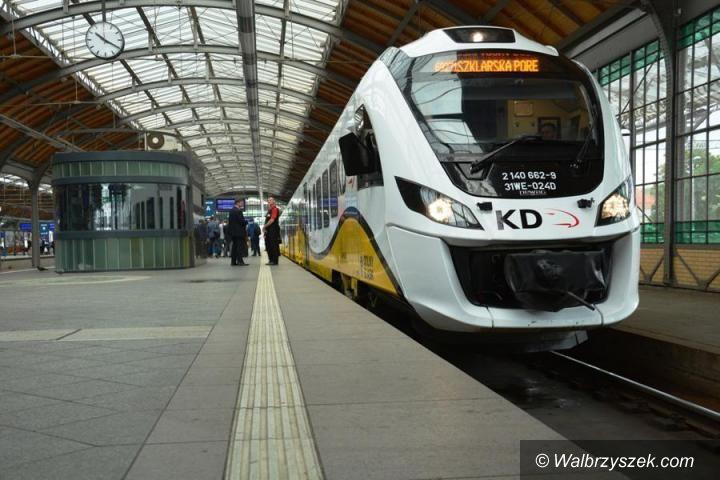 REGION: Zmiany cennika opłat w pociągach Kolei Dolnośląskich