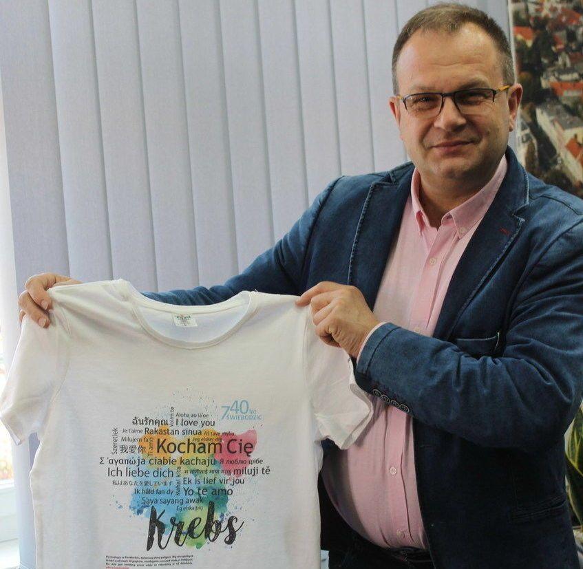 Świebodzice: Koszulka Emila Krebsa – nowość dla miłośników Świebodzic