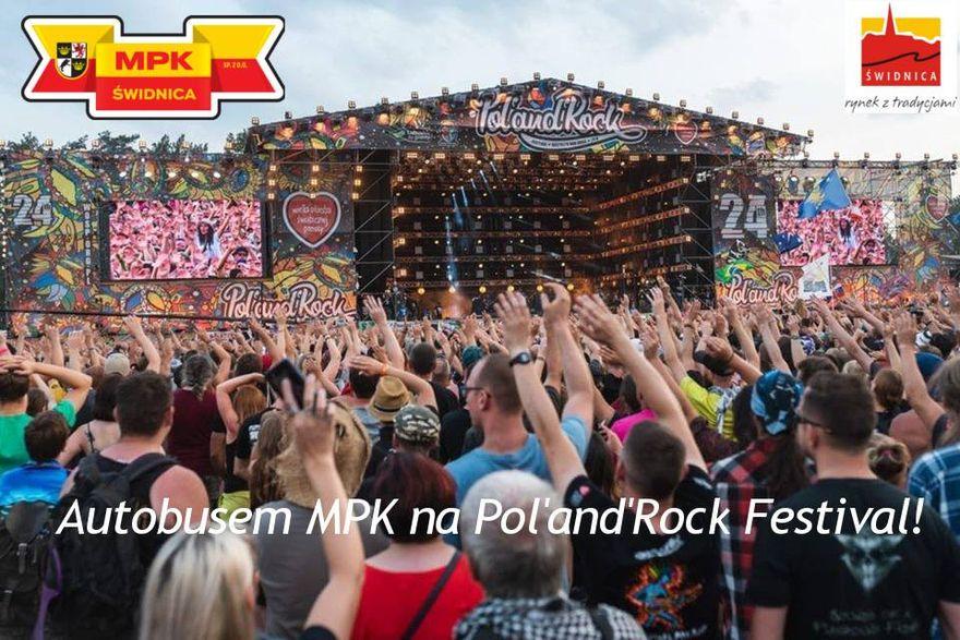 Świdnica: Na Pol'and'Rock Festiwal autobusem