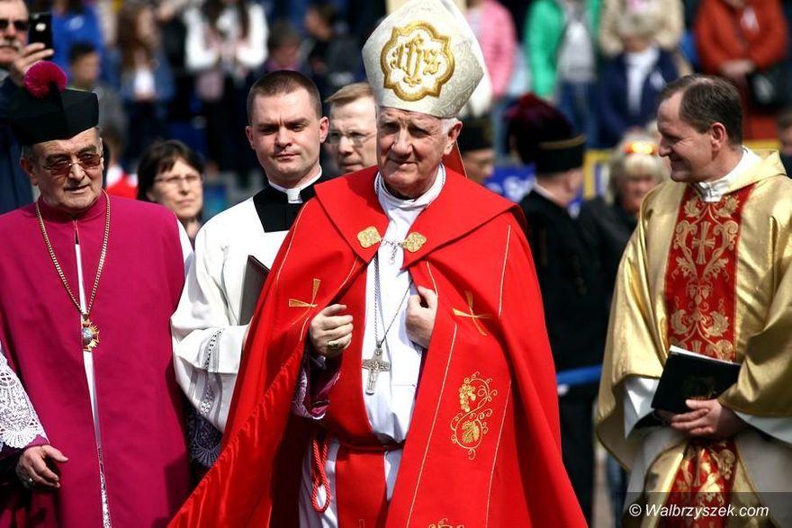 REGION: Biskup się żegna