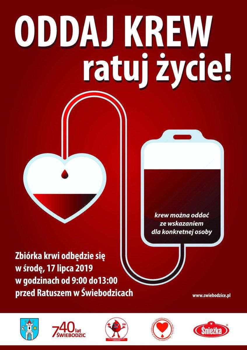 Świebodzice: Oddaj krew