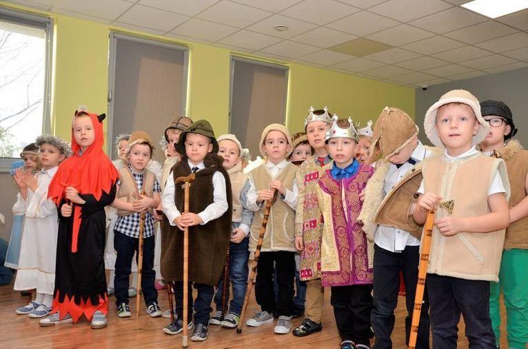 Żarów: Wigilia u przedszkolaków