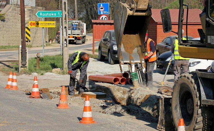 Gmina Dobromierz: Budują kanalizację