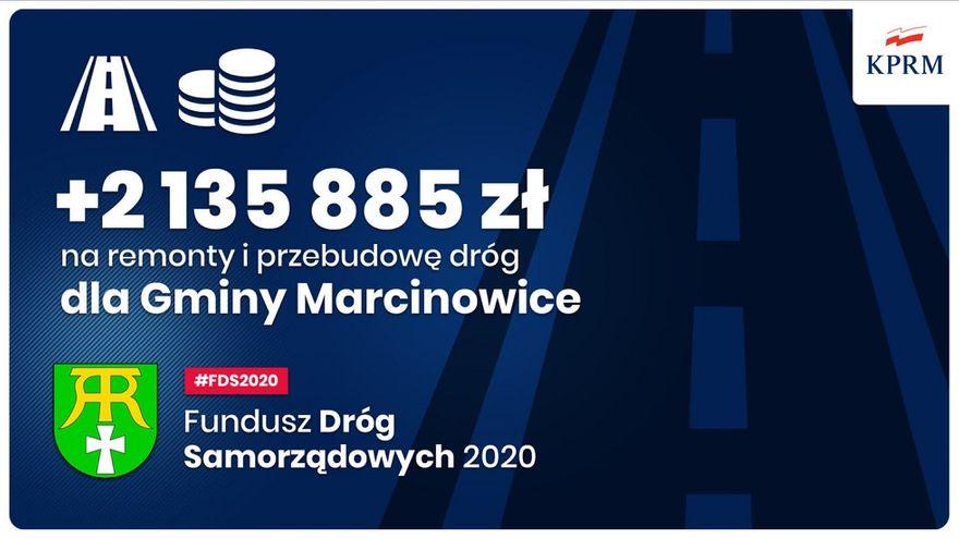 Gmina Marcinowice: Miliony na drogi