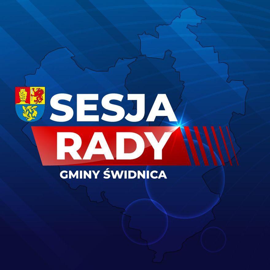Gmina Świdnica: Sesja w gminie