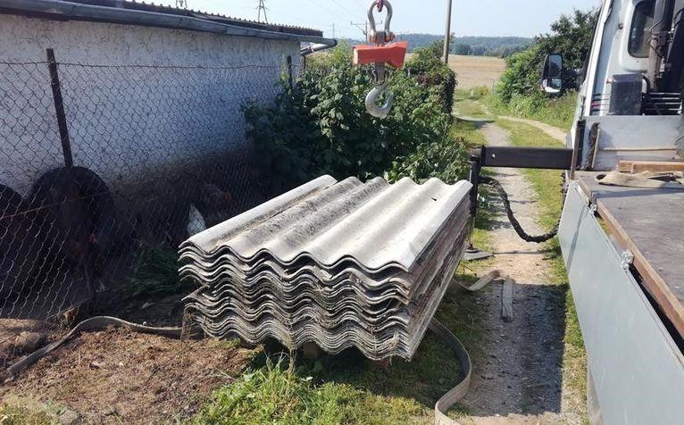 Gmina Żarów: Usuwali azbest