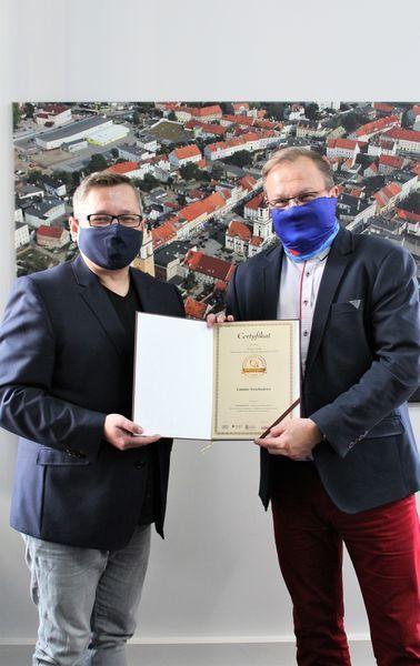 Świebodzice: Certyfikat dla Świebodzic