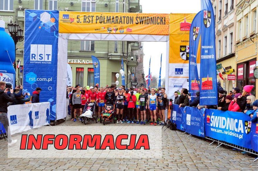 Świdnica: Półmaraton odwołany