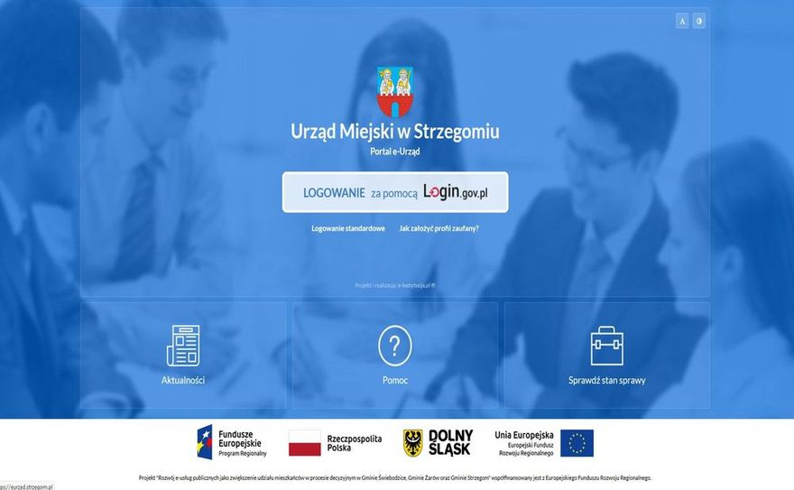Strzegom: Skorzystaj z platformy eurząd