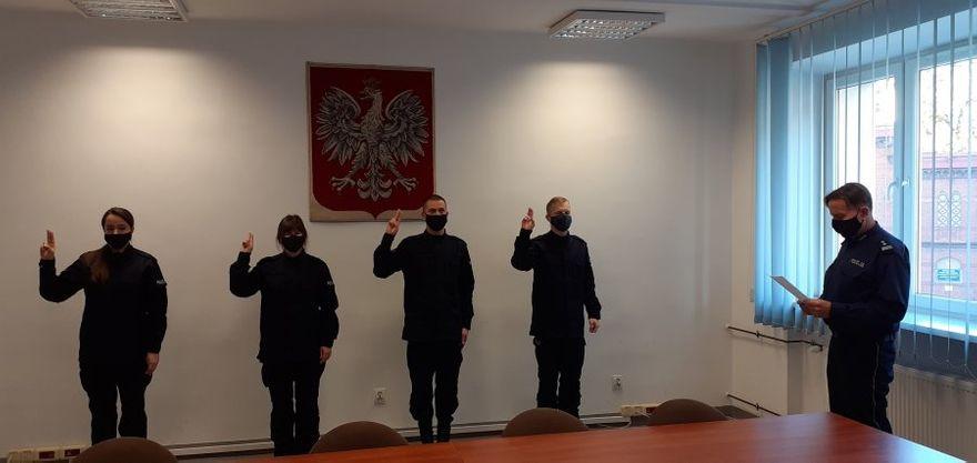 Świdnica: Ślubowanie policjantów