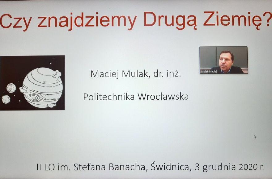 Świdnica: Wykład na inaugurację