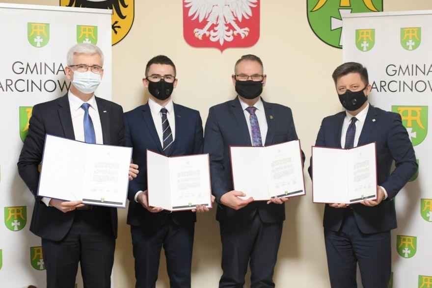 Gmina Marcinowice: Wsparcie kontynuowane